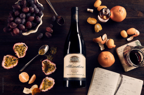 ALLESVERLOREN Shiraz SWARTLAND / SOUTH AFRICA 2014 - Foodphotography