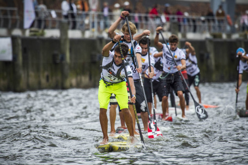 SUP World Cup Hamburg - Kai Lenny in the lead!