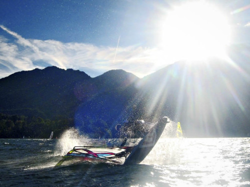 WINDSURFING - Lake Kochelsee