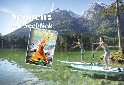YOGA Journal Germany, 4-2017, 6Pages Gallery