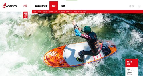 FANATIC Website SUP Cover 2016