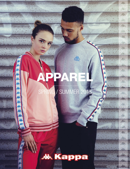 kappa - APPAREL Spring/Summer 2018 Catalog