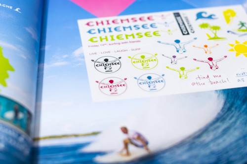 CHIEMSEE Sticker Cards